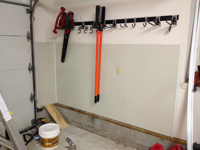Wall protection Boards ideas - The Garage Journal Board