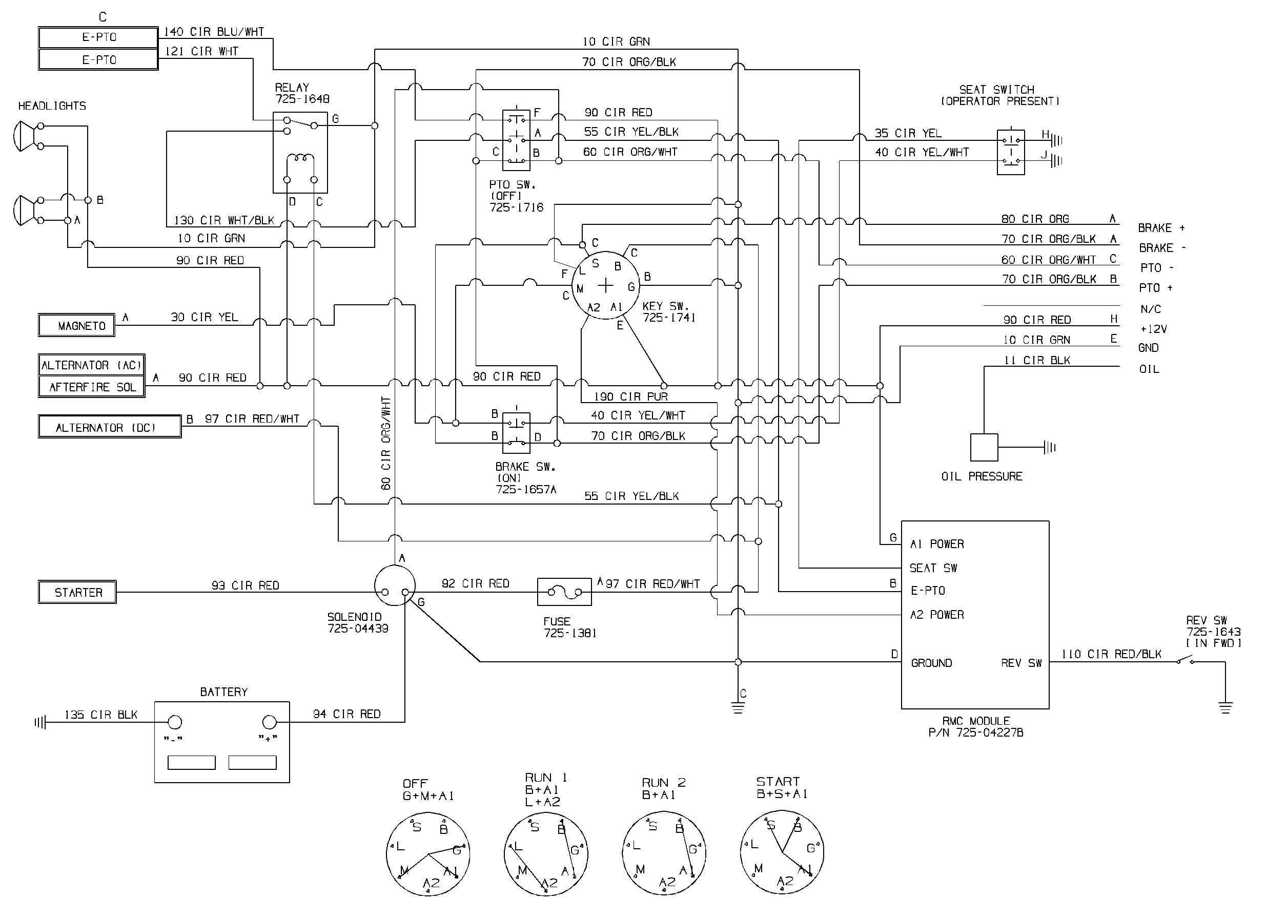 Mtd Cub Cadet Wiring Diagram The Portal And Forum Of 2135 Schematic Lt1045 Charging System Rh 12 17 11 Jacobwinterstein Com Rzt 50 Pto