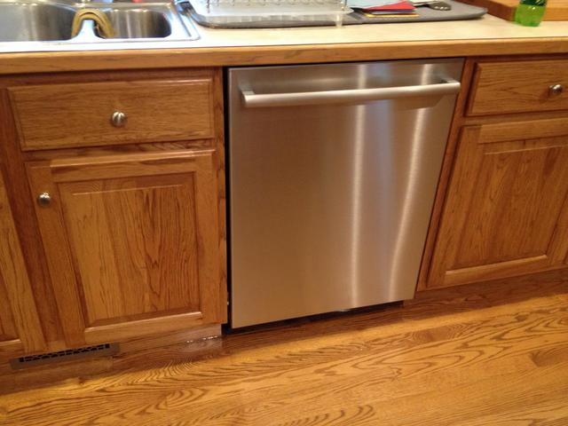 Very Cover Gap Between Dishwasher And Cabinet - Cabinet Designs IS25